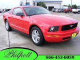 2006 Torch Red Ford Mustang V6 Premium Coupe #16224129