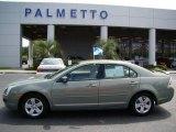 2008 Moss Green Metallic Ford Fusion SE #16225226