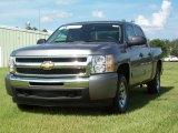 2009 Graystone Metallic Chevrolet Silverado 1500 LT Crew Cab #16274577