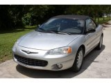 2002 Brilliant Silver Metallic Chrysler Sebring LXi Convertible #16271866