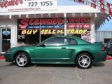 2000 Electric Green Metallic Ford Mustang GT Coupe #16273707