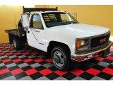 1999 GMC Sierra 3500 SL Regular Cab Chassis Stake Truck