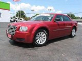 2008 Inferno Red Crystal Pearl Chrysler 300 LX #16277812