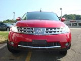 2006 Sunset Red Pearl Metallic Nissan Murano SE AWD #16274187