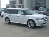 2010 White Platinum Tri-Coat Metallic Ford Flex Limited #16265915