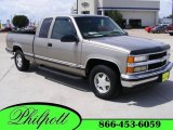 1999 Light Pewter Metallic Chevrolet Silverado 1500 LS Extended Cab #16329283