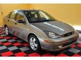 2003 Arizona Beige Metallic Ford Focus ZTS Sedan #16332553