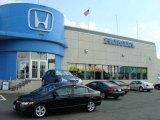 2007 Nighthawk Black Pearl Honda Civic EX Sedan #16324754