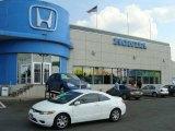 2007 Taffeta White Honda Civic LX Coupe #16324755
