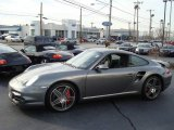 2008 Meteor Grey Metallic Porsche 911 Turbo Coupe #1631684