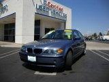2004 Steel Blue Metallic BMW 3 Series 325i Sedan #16390747