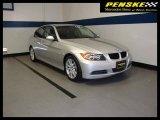 2008 Titanium Silver Metallic BMW 3 Series 328i Sedan #16389832