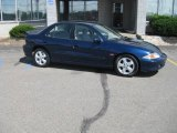 2002 Indigo Blue Metallic Chevrolet Cavalier Z24 Sedan #16387411