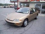1998 Gold Metallic Chevrolet Cavalier LS Sedan #16375845