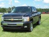 2009 Black Chevrolet Silverado 1500 LT Crew Cab #16387678