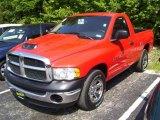 2004 Flame Red Dodge Ram 1500 ST Regular Cab #16378357
