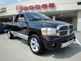 2006 Black Dodge Ram 1500 Laramie Quad Cab #16390696