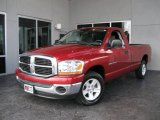 2006 Inferno Red Crystal Pearl Dodge Ram 1500 SLT Regular Cab #16376275