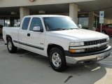 1999 Summit White Chevrolet Silverado 1500 LS Extended Cab #16390697