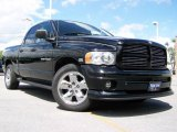 Black Dodge Ram 1500 in 2003