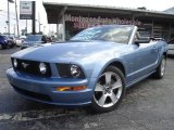 2006 Windveil Blue Metallic Ford Mustang GT Premium Convertible #16380760