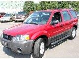 2006 Redfire Metallic Ford Escape XLS 4WD #16374686