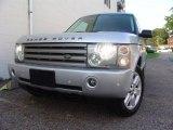 2004 Zambezi Silver Metallic Land Rover Range Rover HSE #16380948