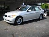 2007 Titanium Silver Metallic BMW 3 Series 328i Sedan #16323975