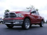 2009 Inferno Red Crystal Pearl Dodge Ram 1500 Big Horn Edition Crew Cab 4x4 #16383318