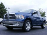 2009 Deep Water Blue Pearl Dodge Ram 1500 Big Horn Edition Crew Cab #16383324