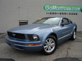 2007 Windveil Blue Metallic Ford Mustang V6 Deluxe Coupe #16374791