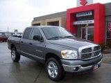2007 Mineral Gray Metallic Dodge Ram 1500 SLT Quad Cab 4x4 #1621969