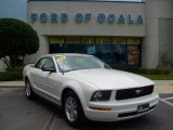 2007 Performance White Ford Mustang V6 Premium Convertible #16380671