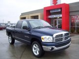 2007 Patriot Blue Pearl Dodge Ram 1500 ST Quad Cab 4x4 #1621978