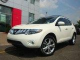 2009 Glacier Pearl Nissan Murano LE AWD #16387313
