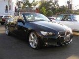 2008 Jet Black BMW 3 Series 335i Convertible #16457300