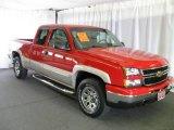 2006 Victory Red Chevrolet Silverado 1500 Z71 Extended Cab 4x4 #16471804