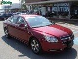 2008 Red Jewel Tint Coat Chevrolet Malibu LT Sedan #16472121