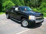 2007 Black Chevrolet Silverado 1500 LT Crew Cab 4x4 #16450841