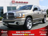 2006 Light Khaki Metallic Dodge Ram 1500 SLT Quad Cab #16450252