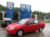 2003 Infra-Red Ford Focus SE Sedan #16446791