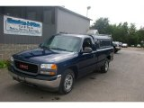 2001 Indigo Blue Metallic GMC Sierra 1500 SL Regular Cab #16471769