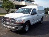 2006 Bright White Dodge Ram 1500 ST Regular Cab #16454031