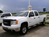 2007 Summit White GMC Sierra 2500HD Crew Cab #16467191