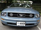 2006 Windveil Blue Metallic Ford Mustang V6 Premium Convertible #16453051