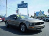 2005 Mineral Grey Metallic Ford Mustang V6 Premium Coupe #1649154