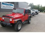 1998 Jeep Wrangler Flame Red