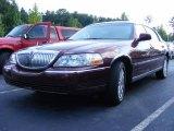 2004 Autumn Red Metallic Lincoln Town Car Signature #16450206
