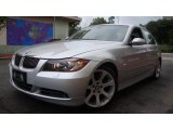 2006 Titanium Silver Metallic BMW 3 Series 330i Sedan #16472316