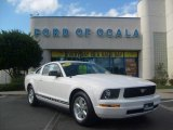 2006 Performance White Ford Mustang V6 Premium Coupe #1647524